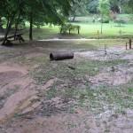 Flood damage near Little Queen Road, WV.